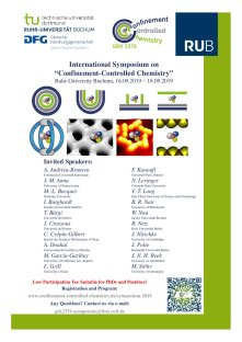 Announcement of int. Symposium 2019